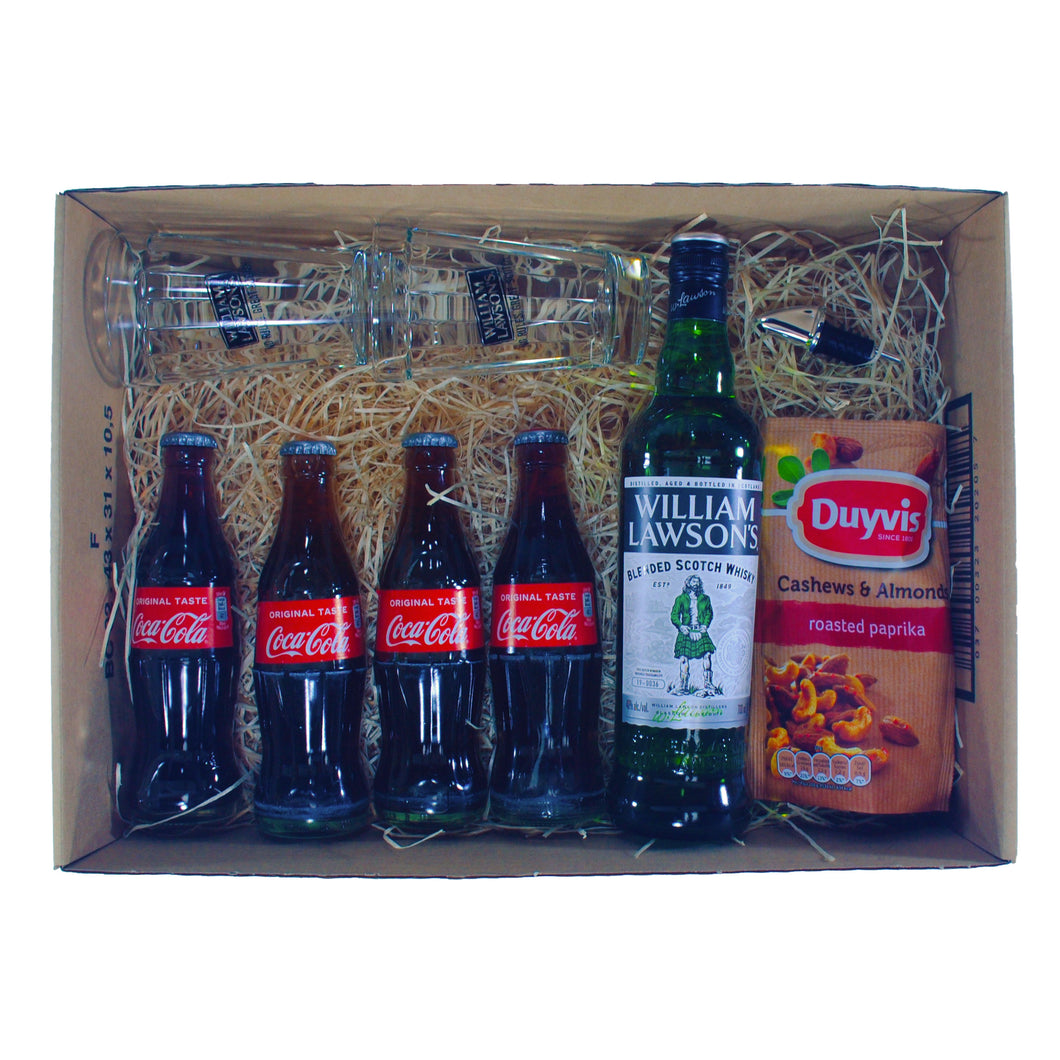 William Lawson's & Cola Giftbox