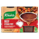 Knorr Beef Stock Pot 4 Pack 8 X 112 gram