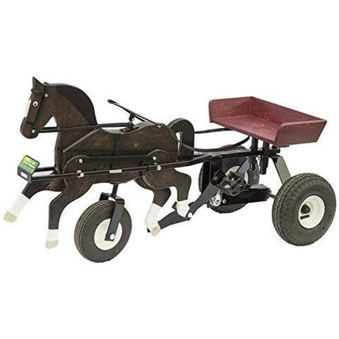 The Horsie - Vintage Style Pedal Horse & Cart for Children