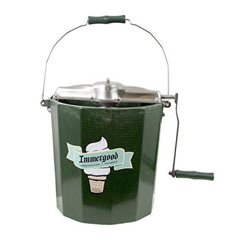 PREMIUM 4 qt. - Stainless Steel Ice Cream Maker - Hand Crank-KITCHEN-Homeplace Market Wagon