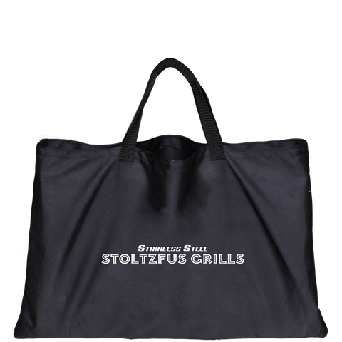 "STOLTZFUS - Portable Charcoal Grill, Go Anywhere, Stainless Steel 17""x 17"", Carrying bag Included-COOKWARE-Homeplace Market Wagon"