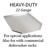 Hickoryware - Stainless Steel Dish Drain Board - BUILT TO ORDER
