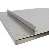 Hickoryware - Scratch & Dent - Stainless Steel Dish Drain Board (End Opening)