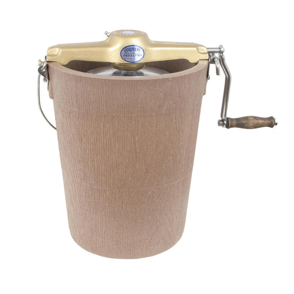 Country Ice Cream Maker - Poly Tub - Hand Crank