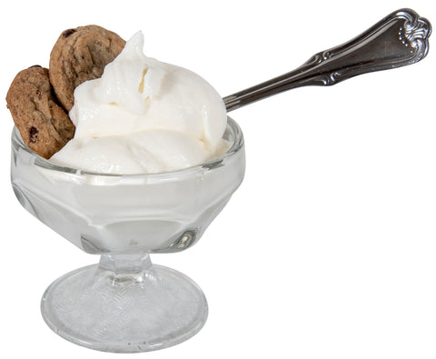 Image of tasty homemade ice cream