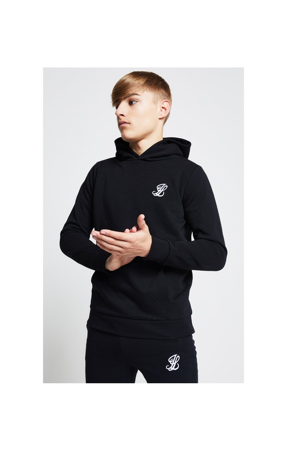 Illusive London Sudadera con Capucha - Negro (1)