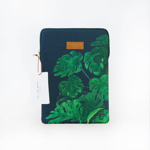 Pochette d'ordinateur Monstera