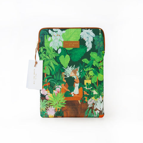 Pochette d'ordinateur Plant Addict Lady