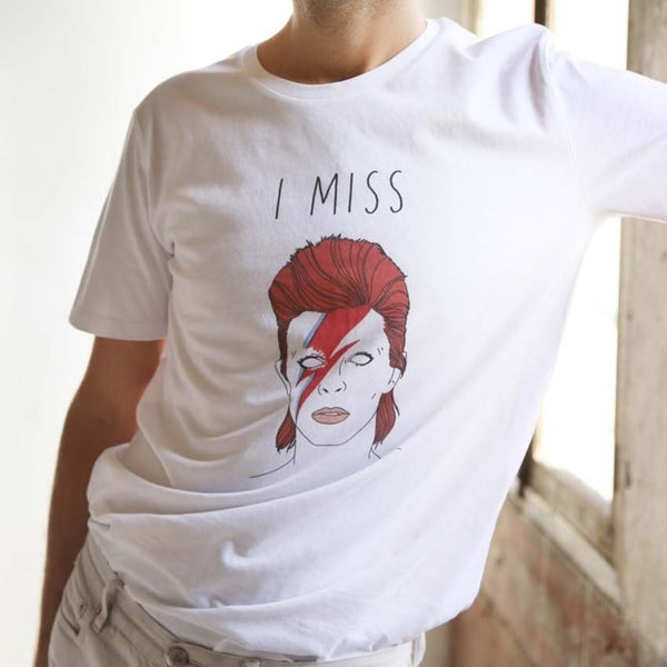 T-shirt I Miss Bowie