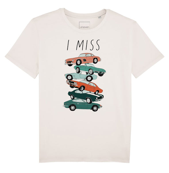 T-shirt I Miss Vintage Cars