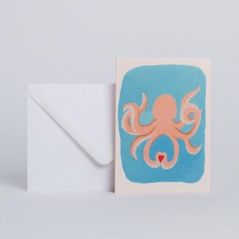 Carte Octopus in Love