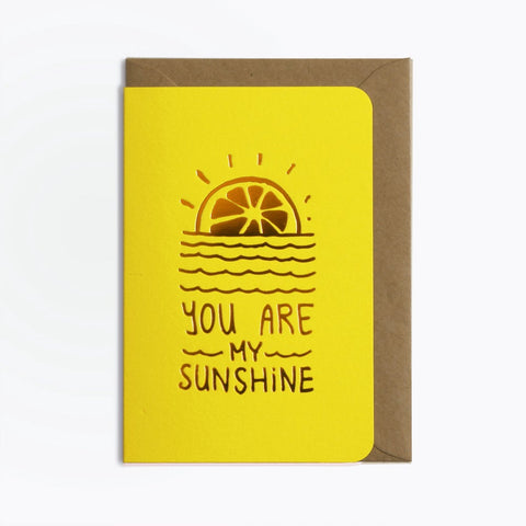 Carte My Sunshine