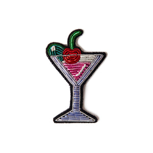 Broche Cocktail Cerise