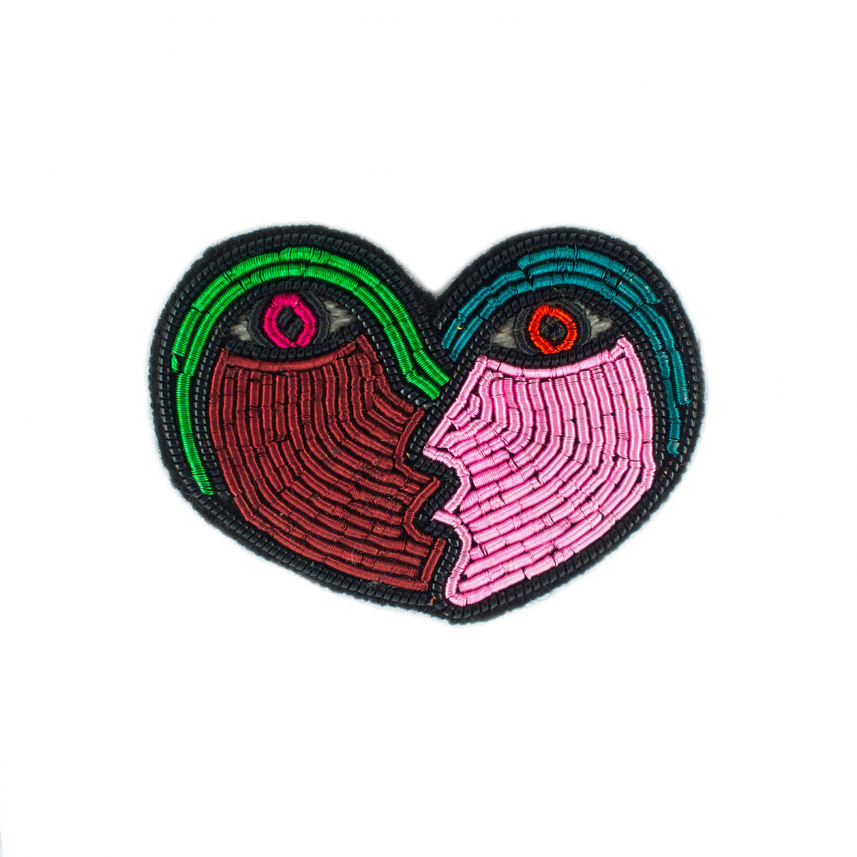 Broche Coeur Amoureux