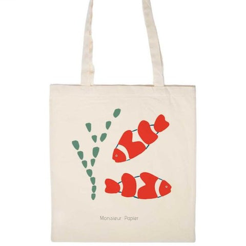 Totebag Poisson Clown