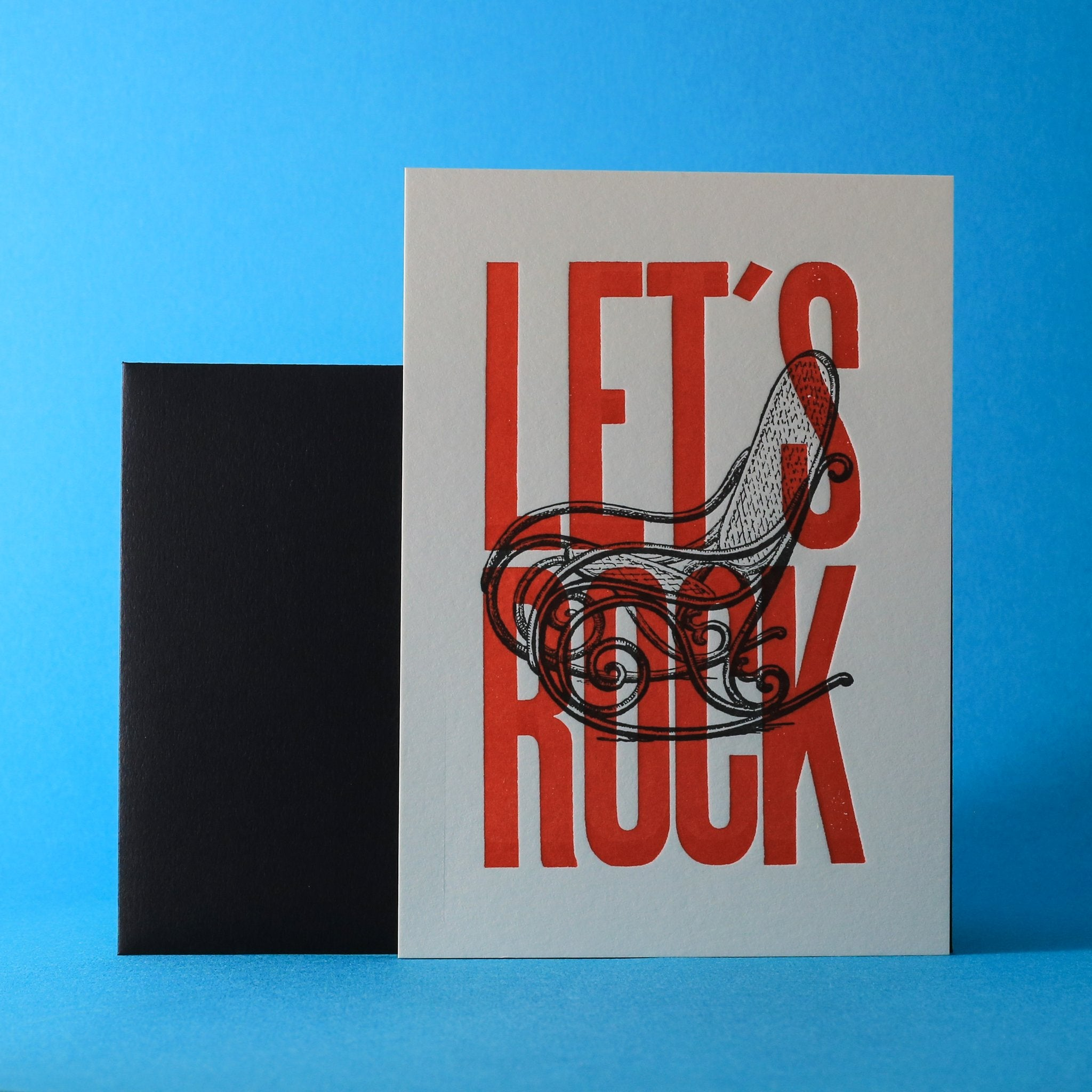 Carte Let's Rock