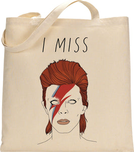 Totebag I Miss Bowie