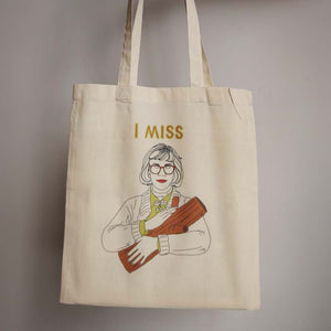 Totebag I Miss The Log Lady