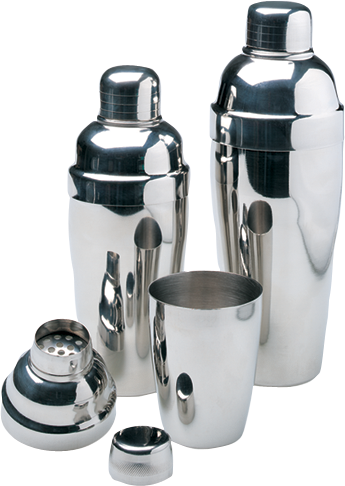 Cocktail mixers 3 piece