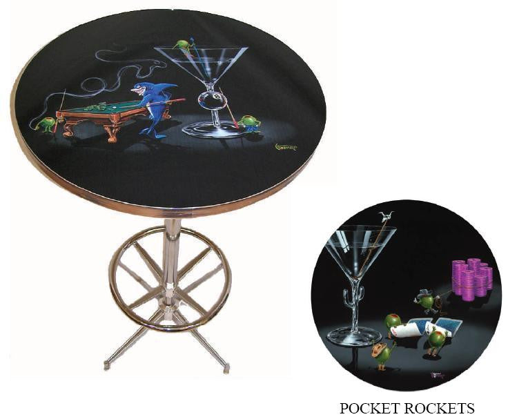 Bar Table - Pocket Rockets
