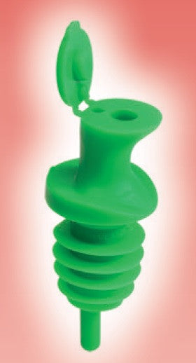 Pour and Seal Free Flow Pourer with Lid by the dozen