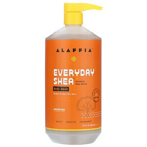 Alaffia Unscented Body Wash 32oz