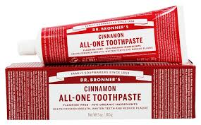 Dr. Bronner's Cinnamon All-One Toothpaste 5oz
