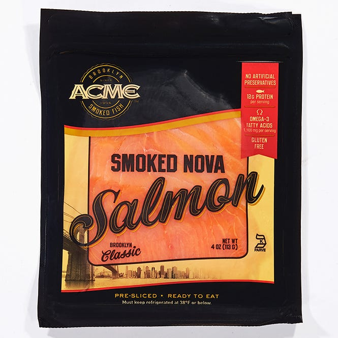 Acme Smoked Nova Salmon 4oz