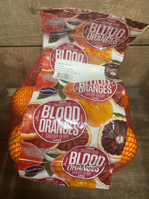 Blood Oranges 2lb Bag