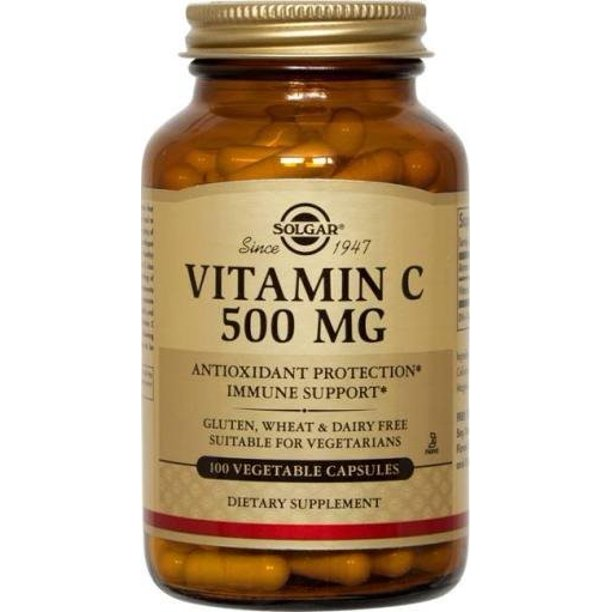 SOLGAR Vitamin C 500mg 100ct
