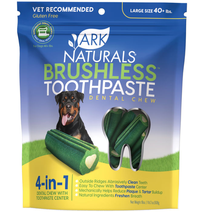 Breath-Less Large Toothpaste Dog Chew 18oz