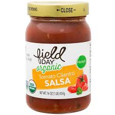 Field Day Tomato Cilantro Salsa 16oz