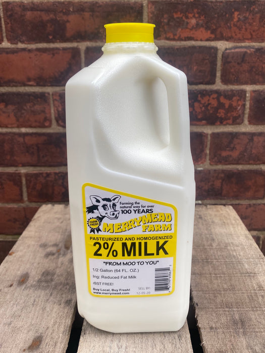 MerryMead 2% Milk Half-gallon 64 OZ