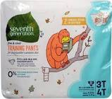 Seventh Generation 3T/4T Training Pants 22ct