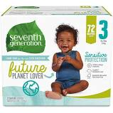 Seventh Generation Stage 3 Diapers 27ct