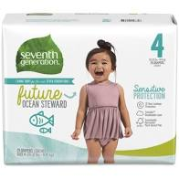 Seventh Generation Stage 4 Diapers 25ct