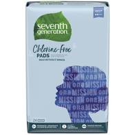 Seventh Generation Maxi Pads 24ct