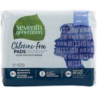 Seventh Generation Ultra Thin Pads Regular 18ct