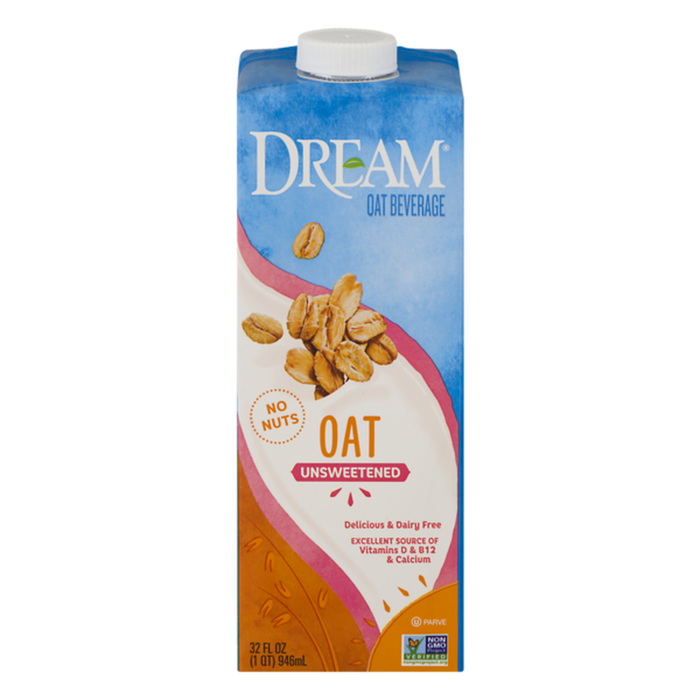 Dream Oat Beverage Unsweetened 32oz