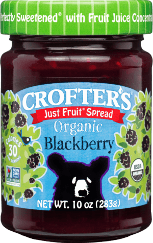 Crofter's Just Fruit Blackberry Spread 10oz