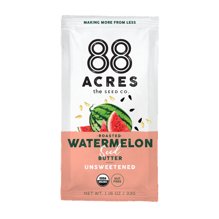 88 Acres Seed Butter, Watermelon 1.16oz