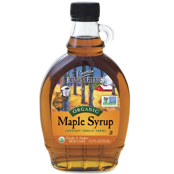 Coombs Family Farms Amber Maple Syrup 12oz