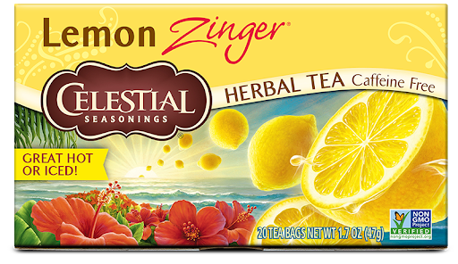 Celestial Seasonings Lemon Zinger Herbal Tea