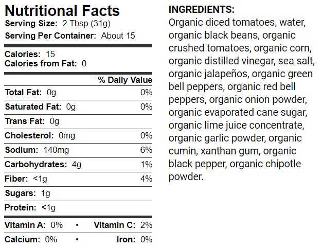 Field Day Organic Medium Salsa 16oz