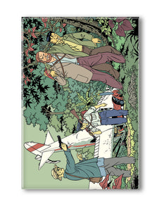 BLAKE ET MORTIMER LA VALLEE DES IMMORTELS CRASH MAGNET