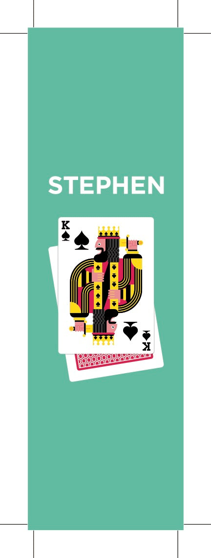 MARQUE-PAGE PAPIER STEPHEN KING