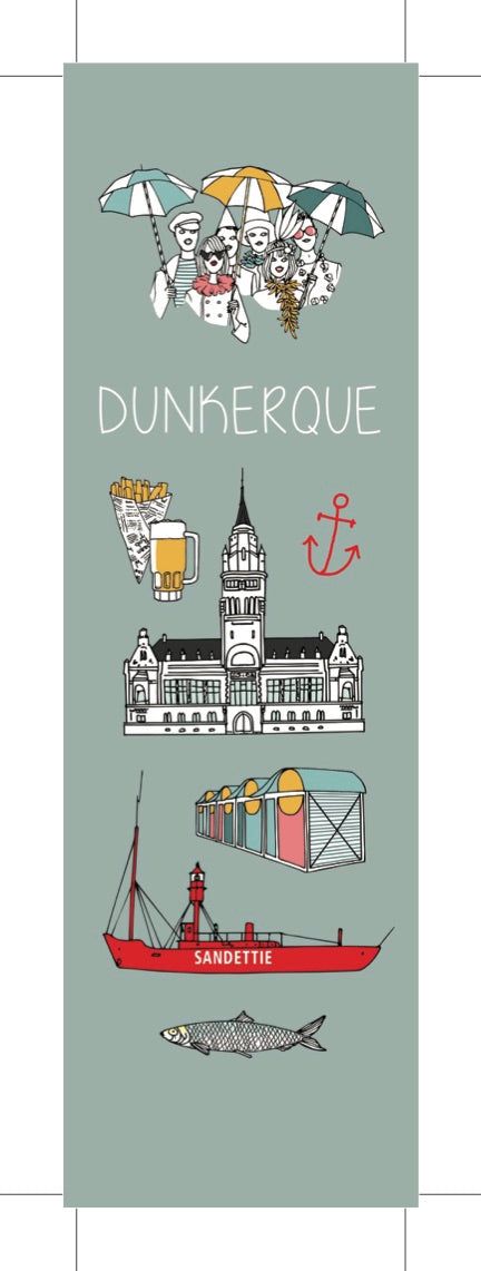 MARQUE-PAGE VISITE DUNKERQUE
