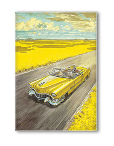 AMARILLO  BLACKSAD  COUVERTURE MAGNET