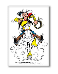 LUCKY LUKE AU GALOP MAGNET