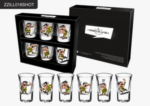 SET DE 6 SHOOTERS LUCKY LUKE  JOE DALTON